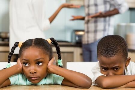 enfants couple divorce conflit familles