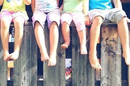 famille interage enfants adolescent