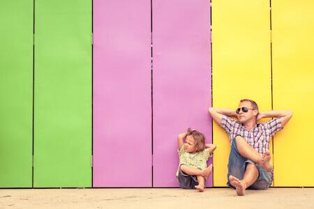 parent monoparentalite enfant famille